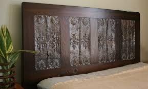 read crafty build diy queen headboard old door