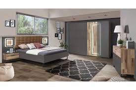 Sirius Black Von Forte Schlafzimmer Set Mit Beleuchtung