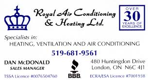 royal air conditioning.  Royal Royal Air Conditioning And Heating Ltc On O