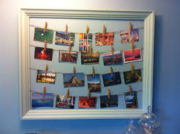 Year round it's a great way to display postcards from travels, but during  the holidays it makes a unique way of displaying Christmas cards.