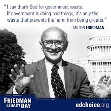 Milton Friedman Quotes Extraordinary Getting To Know Milton Friedman EdChoice