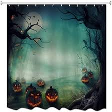 A.Monamour <b>Gothic</b> Night Pumpkins Haunted Tree <b>Halloween</b> ...