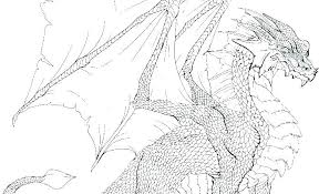Dragon Coloring Pages Realistic Cool Dragon Coloring Pages Cool