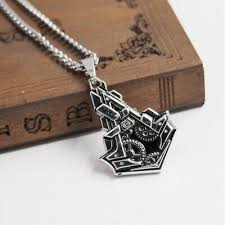necklace assassins creed syndicate logo