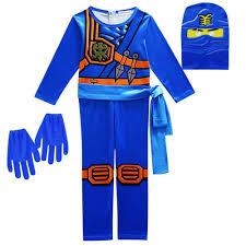 Boys Girls Ninjago Lego Jay Walker Ninja Kids Halloween Costume ...