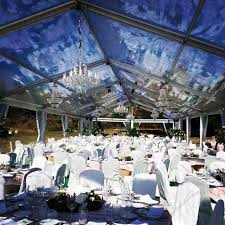 decoration wedding with various types of crystal chandeliers