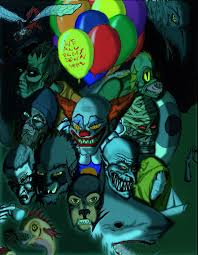 the many faces of pennywise by creeper on the many faces of pennywise by creeper113