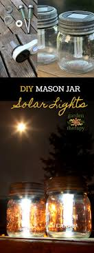 Solar Jars Mason Jar Solar Lights