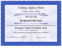 best photos of sample certificate template training course it
