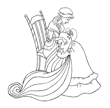 Betsy Ross Made The First American Flag Coloring Page Get Coloring