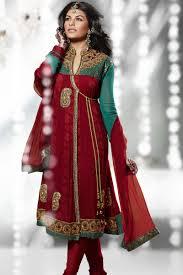 Fashion Designing Salwar Kameez 2013 Jacqueline Fernandez Salwar Kameez Zeenat Style