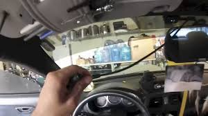 installing a 7 rear view mirror lcd w backup camera