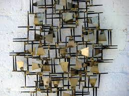 wall art designs wall metal art a vintage 1960s hand wrought with regard to most on abstract metal wall art sculpture with displaying photos of abstract metal wall art sculptures view 13 of