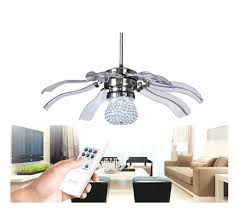 modern ceiling fans without lights. Lovely Modern Ceiling Fan With Light New Crystal Led Lights Minimalist Bedroom Restaurant Abs Fans Without
