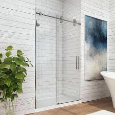double sliding shower doors home depot barn door glass floor guide