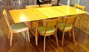 drop leaf dining table and 6 chairs. heywood wakefield \ drop leaf dining table and 6 chairs e