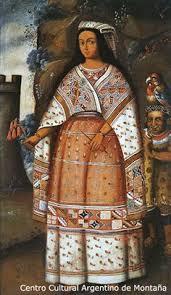 Resultado de imagen de pallas del inca