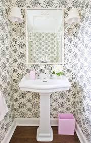 Powder Room Wallpaper Bathroom Flocked Powder Room Wallpaper Airmaxtn
