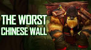 broken chinese wall singsing dota 2 highlights youtube
