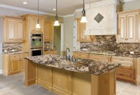 Bianco Romano Granite Kitchen Decorations The Right Granite Countertops For Your Maple Cabinet