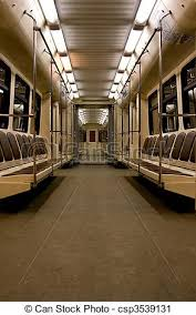empty subway train. Wonderful Empty Subway Metro Wagon Inside  Csp3539131 Throughout Empty Train A