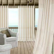 Curtains for picture window Sheer Curtains Carmen Extra Wide Indooroutdoor Sheer Window Curtain The Home Depot Outdoor Curtains Drapes Window Treatments The Home Depot