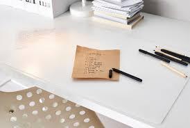 ikea office accessories. PRÖJS Desk Pad, Transparent Ikea Office Accessories C