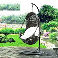 outside swing chair. Outdoor Hanging Chair Rattan Hammock Swing With . Outside