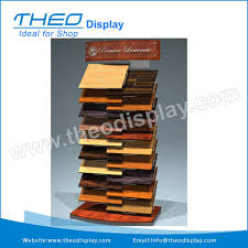 Plywood Display Stands Fascinating TH32Modern Wire And Wood Flooring Display Rack StandsWire And