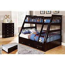 Amazon Discovery World Furniture Twin over Full Bunk Bed with