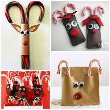 Christmas Decorations Using Candy Canes Candy Cane Reindeer Craft Gift Ideas Crafty Morning 28