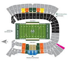 Cu Folsom Field Seating Chart Online Ticket Office Seating Charts