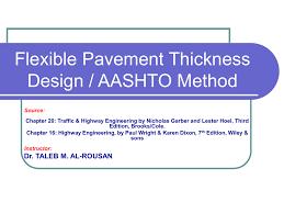 Aashto 93 Flexible Pavement Design 8 Flexible Pavement Design Aashto Method Icivil