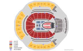 Chase Center Arena Seating Chart Tickets Ariana Grande Sweetener World Tour San