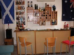 ... Nice Simple Design Of The Home Bar Furniture Sets That Has White Wall  ...