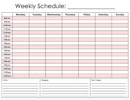 24 Hour Calendar Template Free Printable Daily Hourly Schedule Car