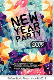 Flyer Poster Templates New Year Party Flyer Poster Template