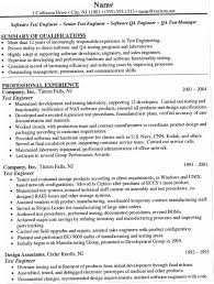 Drive Test Engineer Sample Resume Beauteous Prototype Test Engineer Sample Resume Custom Resume Career Objective