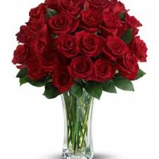 love and devotion long stemmed red roses by flower sensation