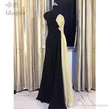 2017 New Cheap A Line Chiffon V Neck Floor Length Multicolor Criss Cross Wedding Guest Plus Formal Gowns Bridesmaid Dresses Custom Size