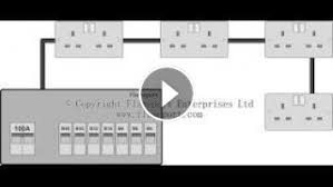 radial wiring diagram spur circuit at Radial Circuit Wiring Diagram