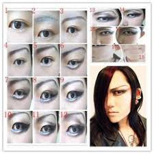 cosplay male makeup male makeup wig making cosplay diy anime guys manga