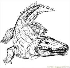Small Picture Crocodile9 Coloring Page Free Crocodile Coloring Pages
