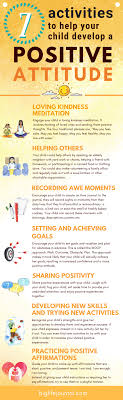 7 Activities To Help Your Child Develop A Positive Attitude Big