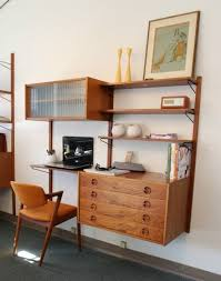 modern office shelving. decoration amusing functional office furniture interior mid century wall units combining with white painting as well artistic vintage wooden chair modern shelving