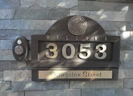 home address plaques. Home Address Plaques Design S