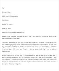 Printable Termination Letter Template Job Employment Notice – Pitikih