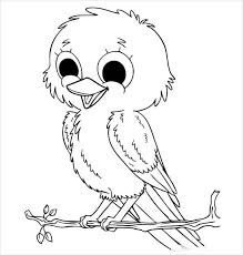 baby birds drawing for kids. Wonderful Baby Cute Baby Birds Coloring Page And Drawing For Kids B