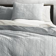 wendell silver quilted king duvet cover