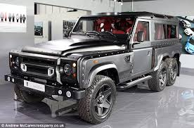 land rover defender off road modifications. the kahn design flying huntsman above is based on a land rover defender but off road modifications d